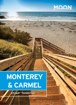 moon monterey carmel travel guide book by author stuart thornton